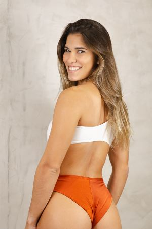 BODY NORONHA  CORAL + OFF WHITE